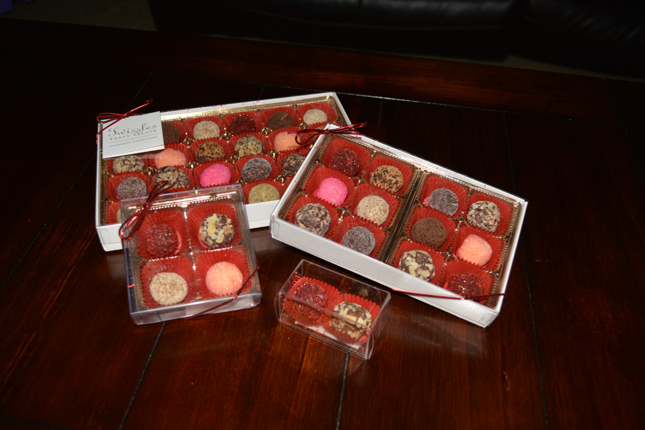 Custom Order Truffles Packages